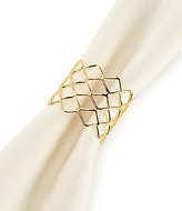 Aman Imports Metal Netted Napkin Ring