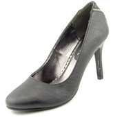 Rampage Omare Women Round Toe Synthetic Black Heels.
