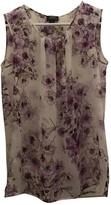 Giambattista Valli Purple Silk Top for Women