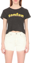 Wildfox Couture tanfan cropped t-shirt