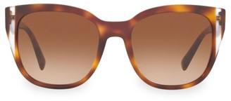Valentino Legacy 54MM Tortoiseshell Sunglasses