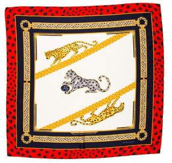 Cartier Silk Printed Scarf