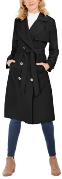 Michael Kors Michael Belted Double-Breasted Trench Coat