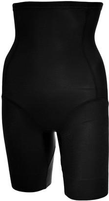 Naomi & Nicole Women's Panty Gainant Taille Haute Noir-Unbelievable Comfort Thigh Shapewear