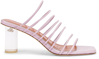 REJINA PYO Zoe 60 Sandal in Lilac | FWRD