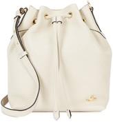 Vivienne Westwood Belgravia Off White Leather Bucket Bag