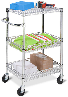 Honey-Can-Do Urban 3-Tier Rolling Cart
