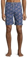 Peter Millar Bob's Buoys Swim Trunks, Blue