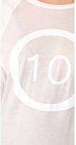 Derek Lam 10 Crosby Logo Raglan T-Shirt