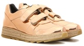 Stella McCartney Macy Metallic Sneakers