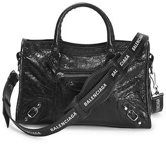 Balenciaga Small Classic City Leather Satchel