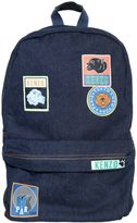 Kenzo Denim Backpack W/ Patches