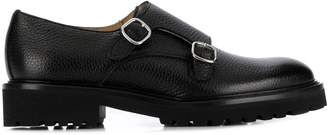 Doucal's Rome monk strap loafers