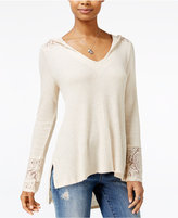 American Rag Hooded High-Low Sweater, Only at Macy's