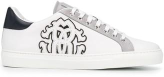 Roberto Cavalli Logo Patch Low-Top Sneakers
