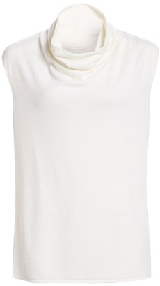 The Row Leila Merino Wool & Cashmere Top