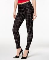 Hue Summer Plaid Loafer Skimmer Leggings