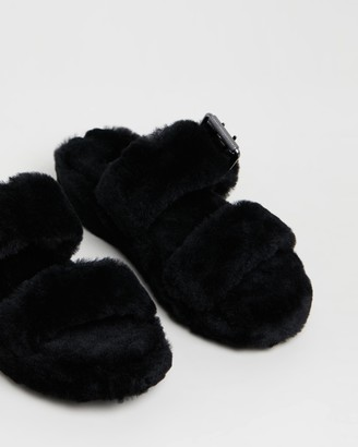 UGG Womens Fuzz Yeah Slippers