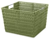 Whitmor Rattique Storage Tote, Sage Green