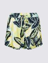 Marks and Spencer Palm Print Swim Shorts