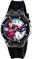 Marvel Boys Iron Man Light Up Wristwatch