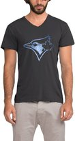 FANMY Men's Toronto Blue Jays Black Pond Logo T-shirt - Black