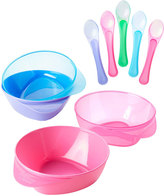 Tommee Tippee Pink & Purple Easy Scoop Bowl & Spoon Set
