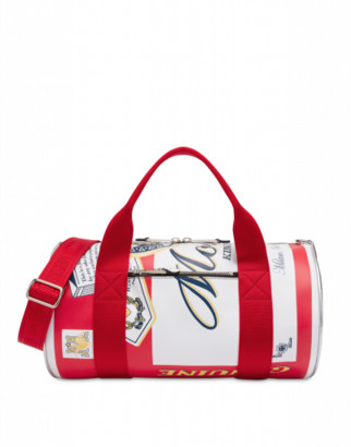 Moschino Budweiser Duffle Bag Woman Red Size U It - (one Size Us)