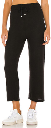 DONNI. Sweater Cropped Flare Pant
