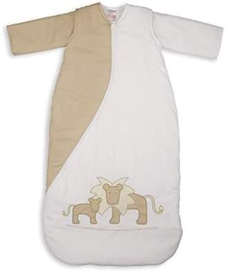 PurFlo Embroidered SleepSac 1.0 Tog (Lion Natural, 18 Mths +) Baby Sleeping Bag