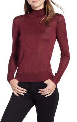Rebecca Minkoff Adele Mock Neck Sweater