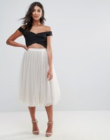 Oh My Love Tutu Midi Skirt