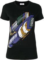 Courreges printed T-shirt - women - Cotton - 3
