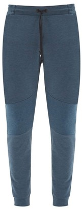 On Panelled Technical-jersey Track Pants - Blue