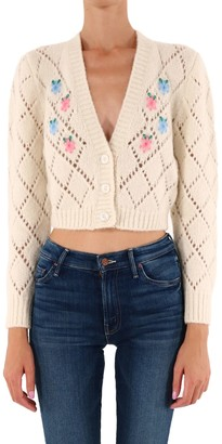 Alessandra Rich Embroidery Sweater