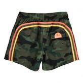 Sundek Camouflage Bande Three-Coloured Swim Shorts