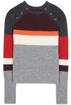Etoile Isabel Marant Isabel Marant, Étoile Doyle Striped Wool Sweater