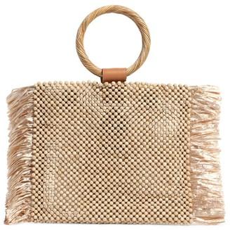 Aranaz Fin Bead Handbag