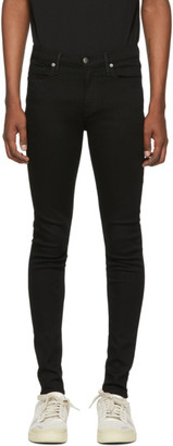 Frame Black Jagger True Skinny Jeans