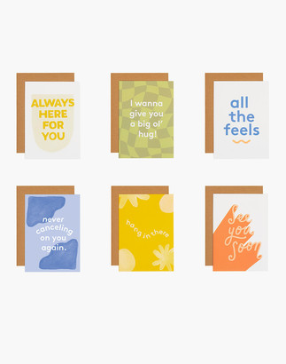 Madewell grl & co. Six-Pack Alone Together Greeting Cards