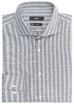 Boss Grid Check Shirt
