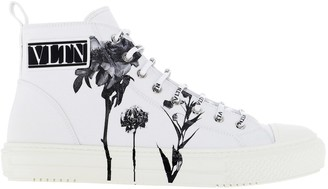 Valentino Giggies Flowersity High-Top Sneakers