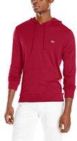 Lacoste Men's Long Sleeve Jersey Regular Fit Hooded Tee Shirt