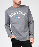 Zoo York Colours Crew Black Melange