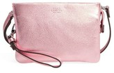 Vince Camuto 'Cami' Leather Crossbody Bag - Pink