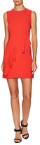 A.L.C. Clarence Ruffle Trim Sheath Dress