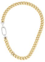 Roberto Coin 18K Diamond Curb Link Chain Necklace