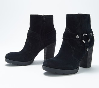 Zodiac Leather Harness Ankle Boots - Aidan