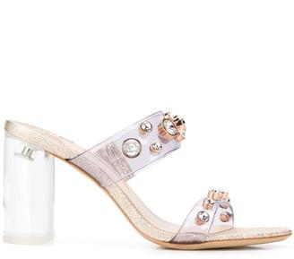 Sophia Webster Dina 90mm crystal-embellished sandals