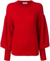 Laneus layered jumper - women - Polyamide/Wool/Alpaca - 42